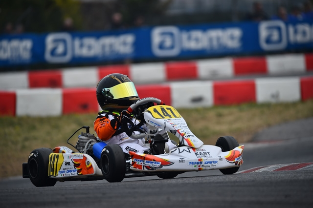 IL TEAM DRIVER PRONTO A FARE BOTTINO DI PODI NELLA IAME SERIES DI ADRIA.