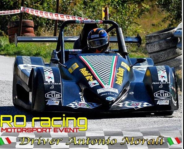 Antonio Morali sceglie la Scuderia RO racing per tornare alle salite nel 2019.