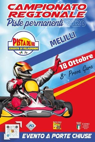 In provincia di Siracusa  l'8° round del Campionato siciliano Karting
