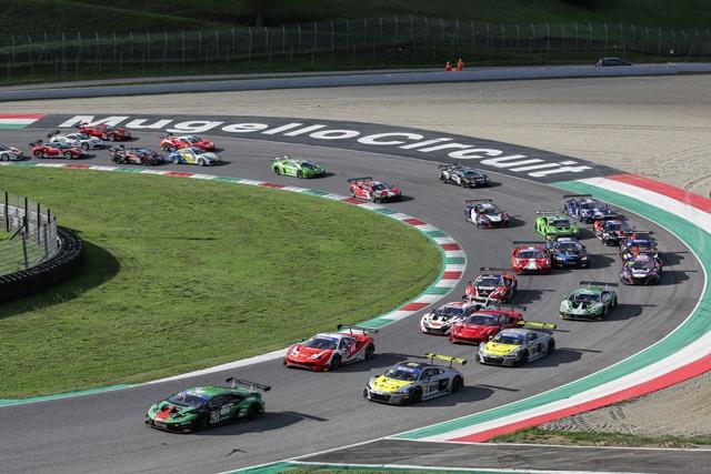 Mugello: Mancinelli-Postiglione (Audi R8 LMS) vincono gara-1 dell'ultimo round del Campionato Italiano Gran Turismo
