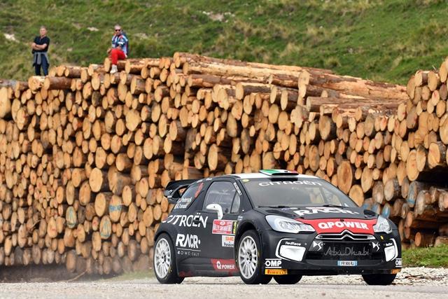 LUCA PEDERSOLI ED ANNA TOMASI (CITROEN DS3 WRC) VINCONO LA GARA ED IL TITOLO TRICOLORE WRC