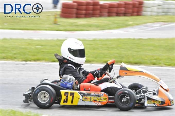 Campionato Regionale Lazio Karting: Samuele Spiezio vince ad Arce!