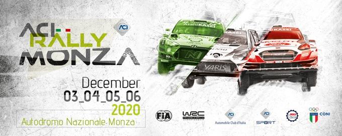 Accordo ACI, FIA e Promoter con RAI per la copertura in diretta dell'ACI Rally Monza che si svolgerà a porte chiuse
