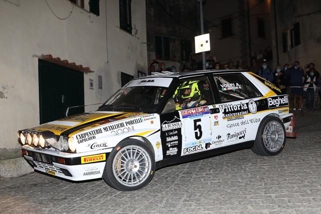 """Rallye Elba Storico """"stregato"""" per Andrea Volpi."""