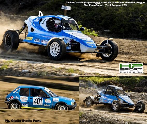 Casarin e HP Sport RRT ancora vincenti a Val d'Enza nel tricolore autocross si confermano il binomio da battere