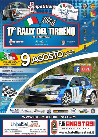 Il Rally del Tirreno è pronto allo start