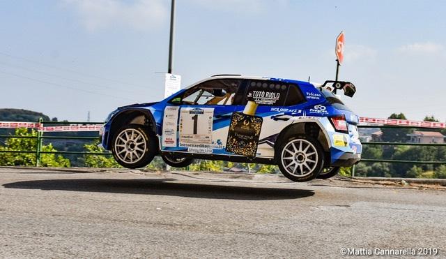 Vittoria di Riolo - Rappa su Skoda al 16° Rally del Tirreno