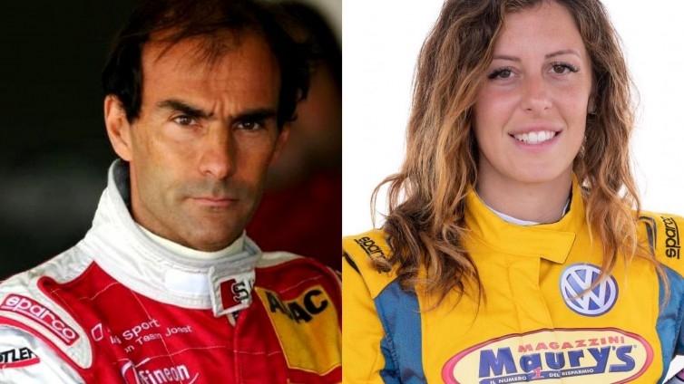 Emanuele Pirro e Carlotta Fedeli insieme per la finale del TCR DSG Europe