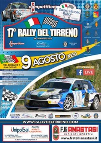 Il Rally del Tirreno proroga le iscrizioni