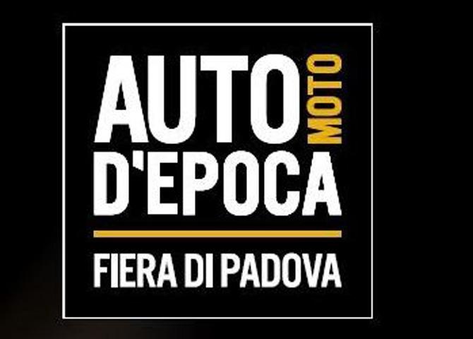 RIFLETTORI PUNTATI SULLA FIERA DI PADOVA PER AUTO E MOTO D'EPOCA 2021, PRIMA ED UNICA FIERA  INTERNAZIONALE DEL SETTORE.
