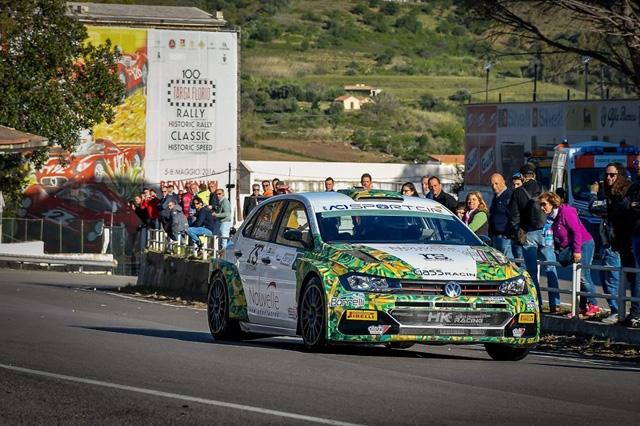 Andrea Crugnola e Pietro Ometto conquistano un eccellente risultato alla centotreesima edizione del Rally Targa Florio