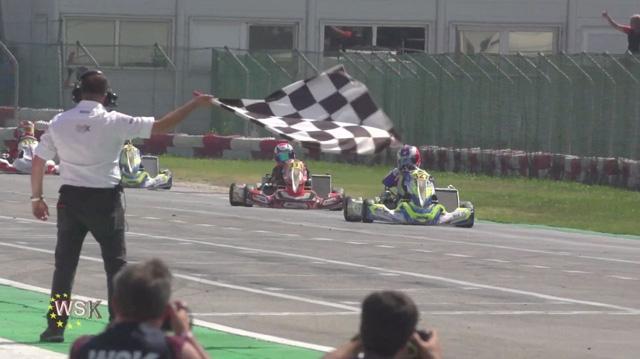 Nella seconda prova della WSK Euro Series vincono le finali Kremers (KZ2), Lindblad (OK), Slater (OKJ) e Olivieri (MINI)