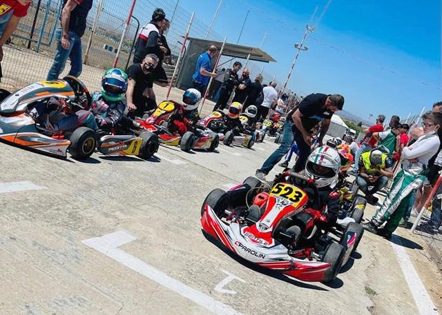 A Vittoria nel Karting regionale finale thrilling