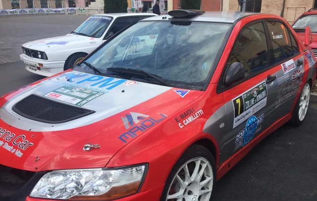 "XRace Sport al Rally ""BiancoAzzurro"" di San Marino: in gara un ""deb"", Edoardo Maioli"