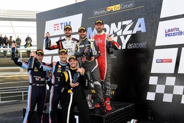 Andrea Crugnola re del Monza Rally Show