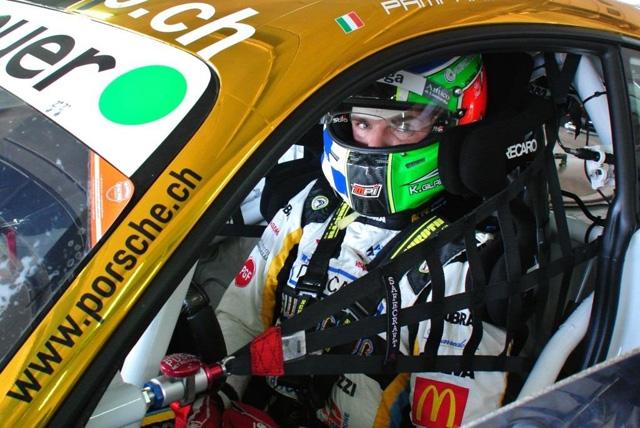 Movisport in circuito con Gilardoni e la Porsche