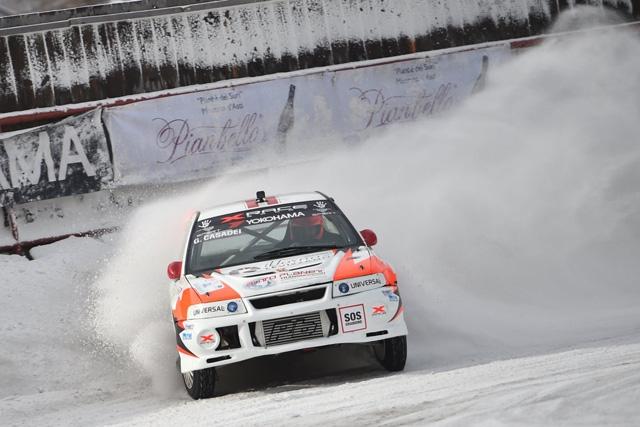 XRace Sport a punti nella terza del tricolore su ghiaccio: pieno riscatto per Gabriele e Gianluca Casadei