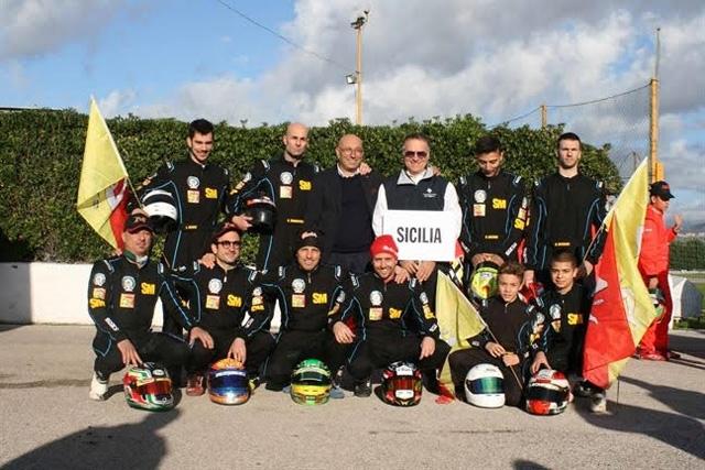 La Sicilia quarta ai Campionati Italiani a squadre karting