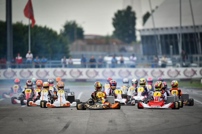 Ad Adria ha preso il via la seconda prova della WSK Euro Series