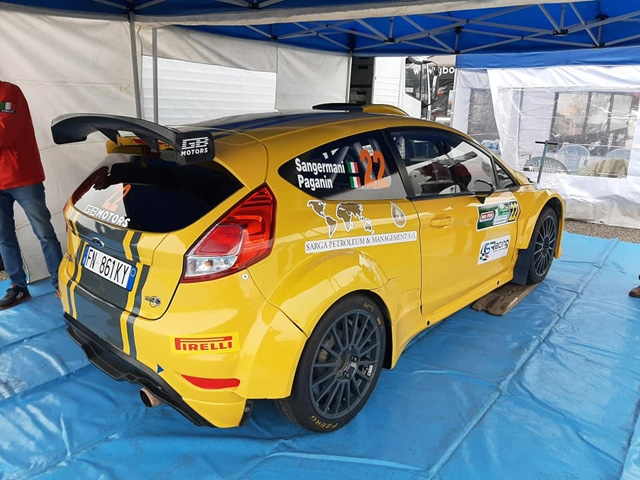 EFFERREMOTORSPORT  Debutto in R5 per Stefano Sangermani