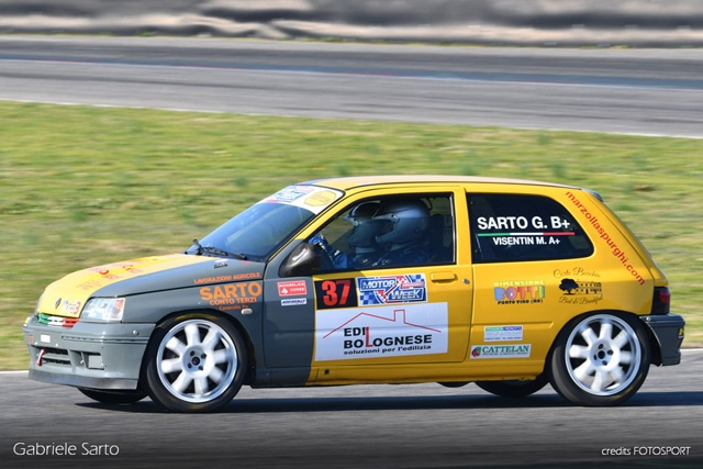 SARTO E VISENTIN SONO QUARTI ALL'ADRIA RALLY SHOW