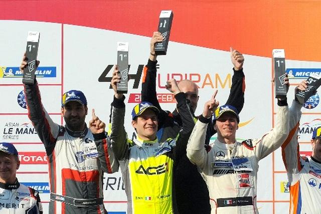 Dominio di ACE1 Villorba Corse in LMP3 alla 4 Ore di Buriram
