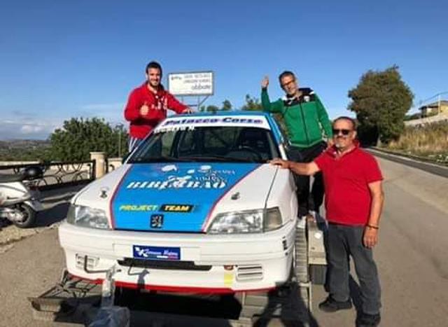 Marco Segreto campione siciliano e vincitore coppa Aci sport.