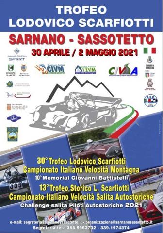 TROFEO SCARFIOTTI / SARNANO SASSOTETTO 2021: 30 APRILE-2 MAGGIO