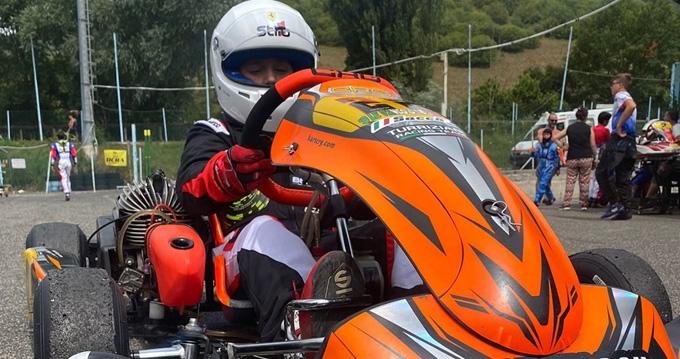 Kart: un altro ottimo risultato per Andrea Saccà