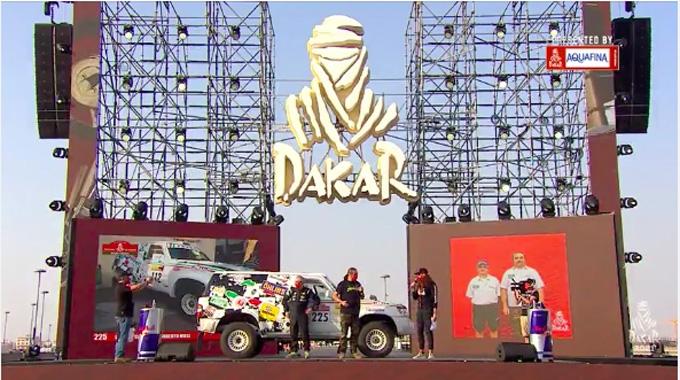 La Squadra Corse Angelo Caffi ha preso il via della Dakar 2021