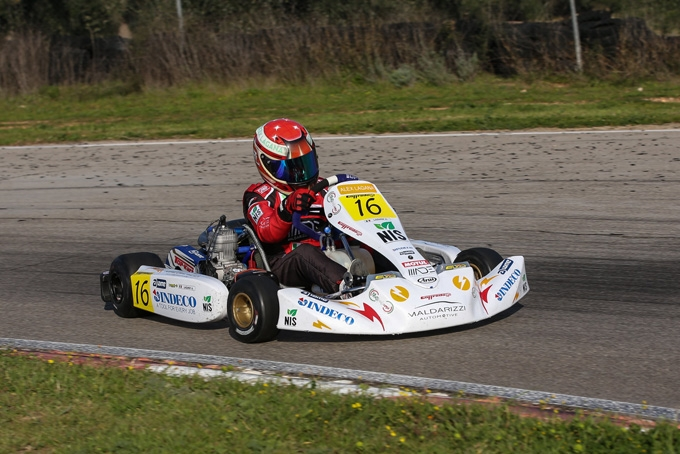 Week end di gara per Alessandro Laganà