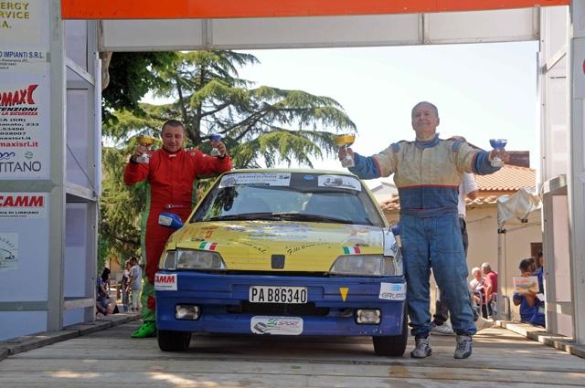 AD AUGUSTO FAVERO E NICOLA PERRONE IL  14° PREMIO RALLY AUTOMOBILE CLUB LUCCA