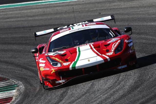 Rovera al via del Tricolore GT Sprint a Misano su Ferrari 488