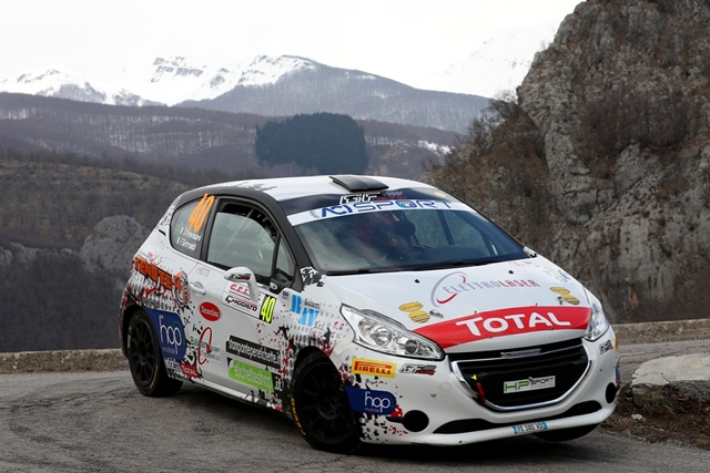 Trevisani al Roma Capitale con i colori HP SPORT Rally Team punta al grande risultato