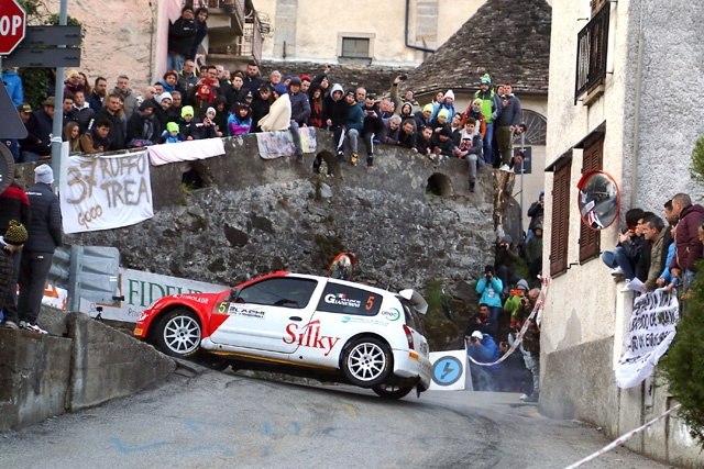 MARCO GIANESINI QUARTO ASSOLUTO AL RALLY 2 LAGHI