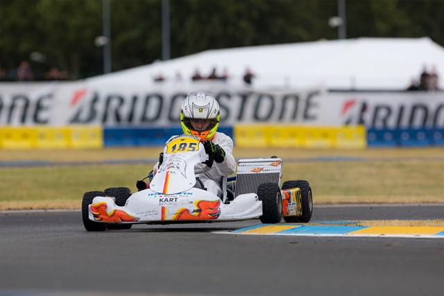 IL TEAM DRIVER A CACCIA DI SUCCESSI NELLA IAME INTERNATIONAL FINAL.