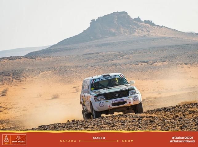 Decima prestazione di tappa per Carcheri e Musi nell'ottava giornata della Dakar Classic