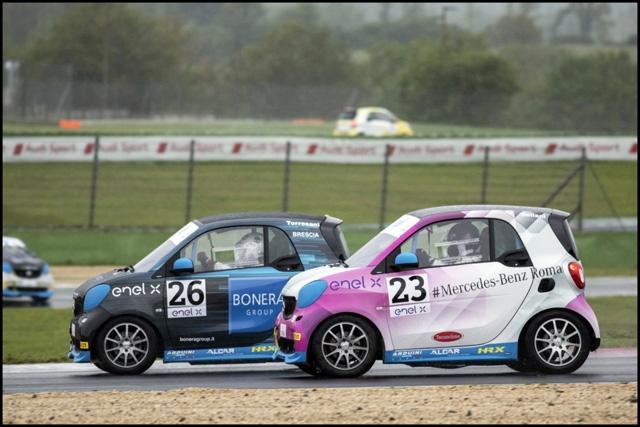 HP SPORT sulla pista di Adria per tornare leader nella Smart E-cup con i piloti Silvia Sellani (Lady Cup) e Nino Cannavò