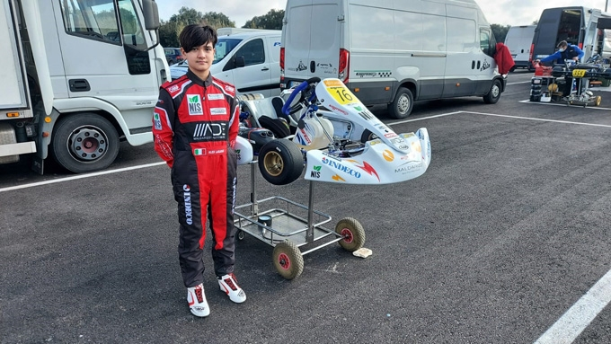 Alessandro Laganà  pronto per il Campionato Regionale Aci Karting