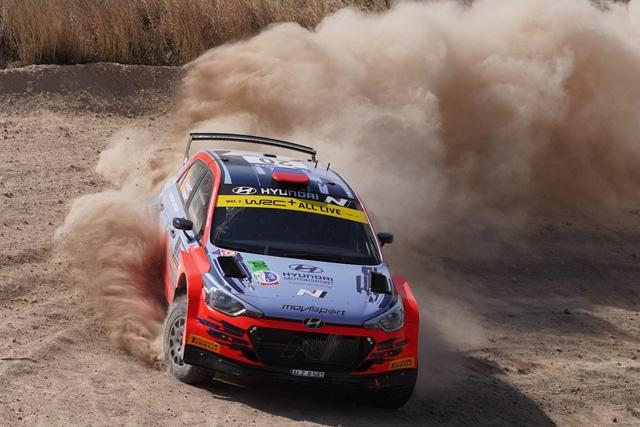 Movisport al Rally del Messico:Gryazin, missione compiuta.