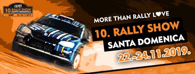 100 iscritti alla Decima Edizione del Rally Show Santa Domenica 2019