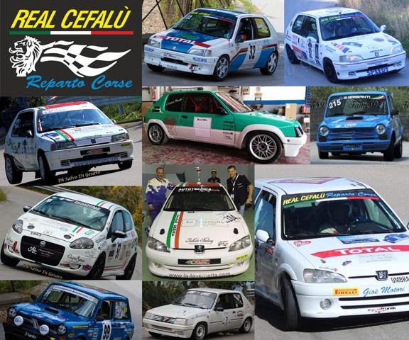 IL REAL CEFALU' REPARTO CORSE IN FORZA ALL' 11° AUTOSLALOM CITTA' DI CASTELBUONO.