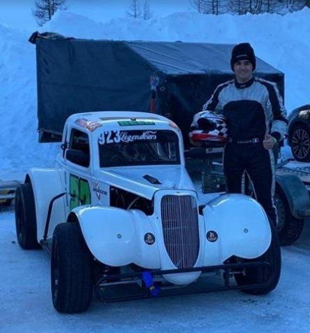 EFFERREMOTORSPORT – Dura un solo giorno l'avventura di Belumè sul ghiaccio