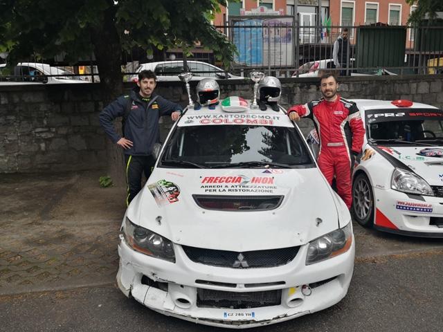 EFFEREMOTORSPORT – Sfortuna al Camunia Rally ma gli equipaggi concludono la gara.