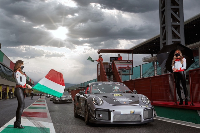 Imola ospita il secondo round del Porsche Club GT con nuovo record
