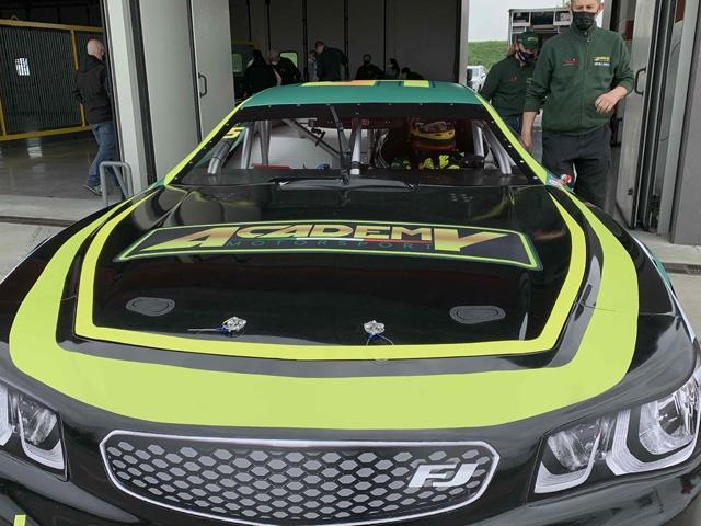 Academy Motorsport - Alex Caffi Motorsport a Valencia per il via della Nascar Whelen Euro Series 2021
