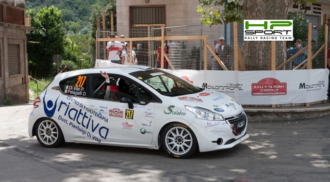HP Sport RRT con 11 equipaggi al via del rally Terra di Argil