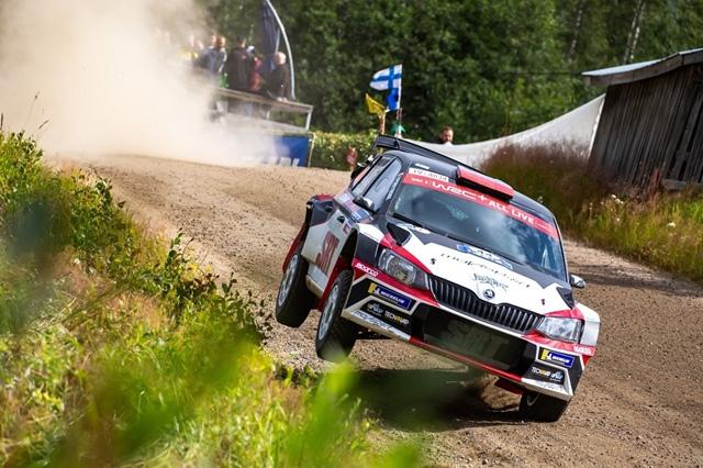 """Movisport di nuovo sugli scudi: Andolfi in trionfo a Scorzè,  Gryazin protagonista in Finlandia sale sul podio del """"WRC-2"""""""