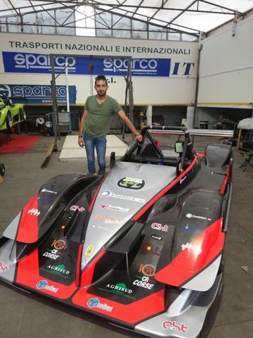 Luca Caruso torna in CIVM con CST Sport