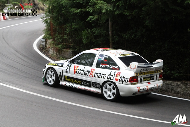La Porto Cervo Racing dall'Umbria alla Sicilia con il pilota Ennio Donato.